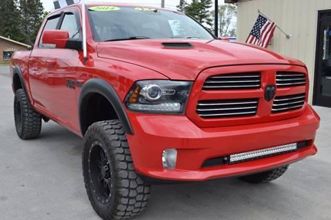 2014 RAM Ram Pickup 1500 for sale at Nick's Motor Sales LLC in Kalkaska MI