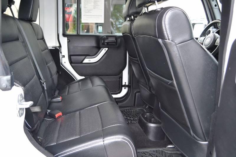 2012 Jeep Wrangler Unlimited for sale at Nick's Motor Sales LLC in Kalkaska MI