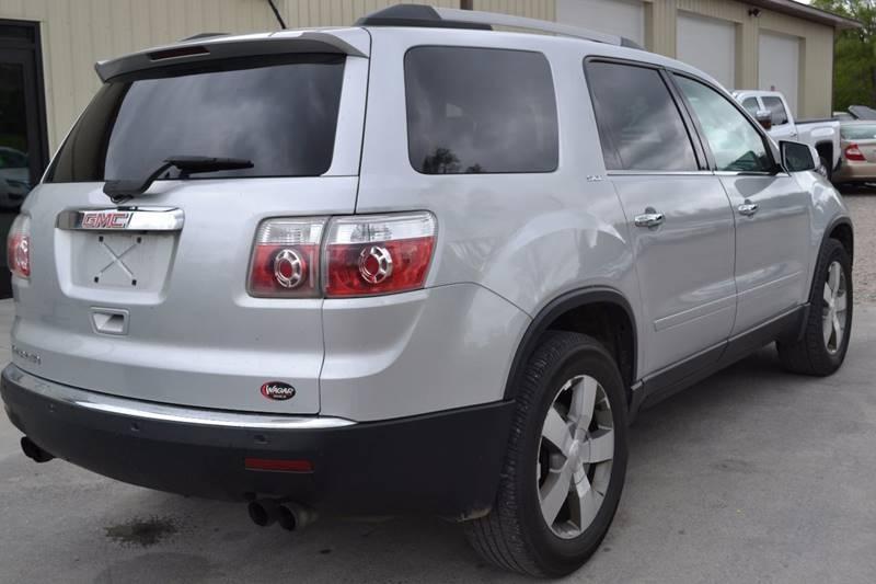 2011 GMC Acadia for sale at Nick's Motor Sales LLC in Kalkaska MI