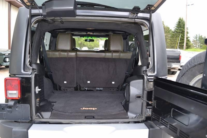 2011 Jeep Wrangler Unlimited for sale at Nick's Motor Sales LLC in Kalkaska MI