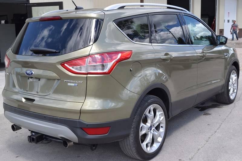 2013 Ford Escape for sale at Nick's Motor Sales LLC in Kalkaska MI