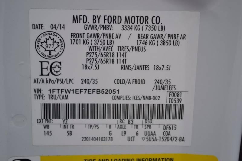 2014 Ford F-150 for sale at Nick's Motor Sales LLC in Kalkaska MI