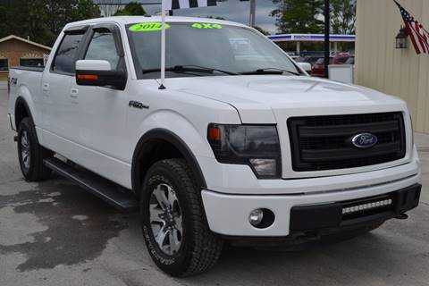 2014 Ford F-150 for sale at Nick's Motor Sales LLC in Kalkaska MI