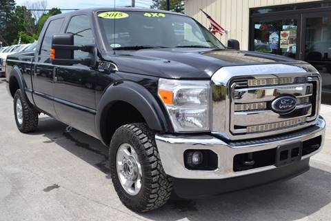 2015 Ford F-250 Super Duty for sale at Nick's Motor Sales LLC in Kalkaska MI