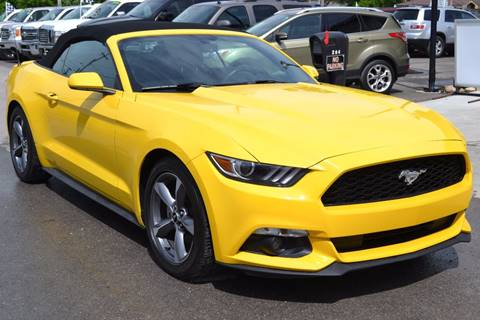 2016 Ford Mustang for sale at Nick's Motor Sales LLC in Kalkaska MI