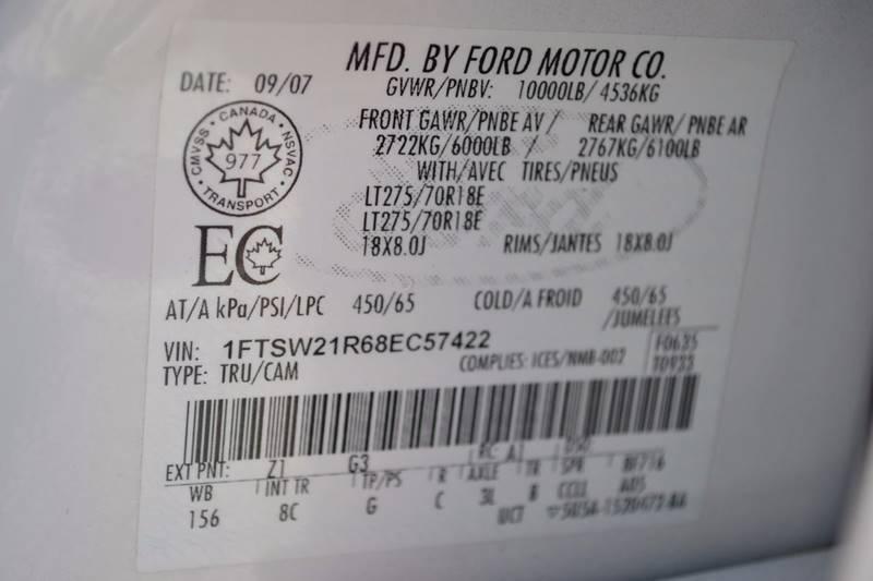 2008 Ford F-250 Super Duty for sale at Nick's Motor Sales LLC in Kalkaska MI