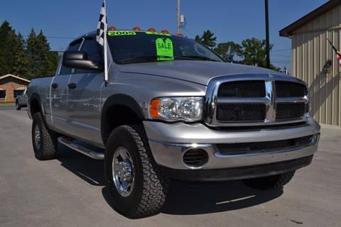2005 Dodge Ram Pickup 2500 for sale at Nick's Motor Sales LLC in Kalkaska MI