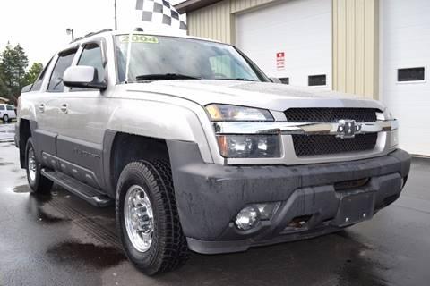 2004 Chevrolet Avalanche for sale at Nick's Motor Sales LLC in Kalkaska MI