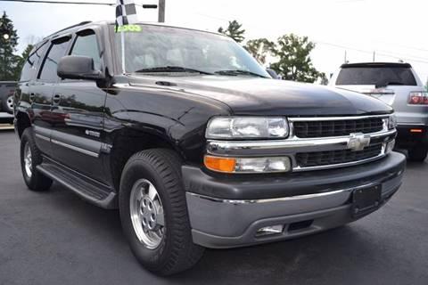 2003 Chevrolet Tahoe for sale at Nick's Motor Sales LLC in Kalkaska MI