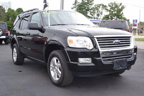 2009 Ford Explorer for sale at Nick's Motor Sales LLC in Kalkaska MI