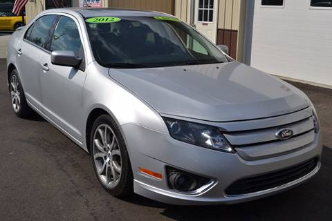 2012 Ford Fusion for sale at Nick's Motor Sales LLC in Kalkaska MI
