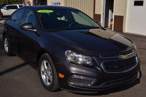2015 Chevrolet Cruze for sale at Nick's Motor Sales LLC in Kalkaska MI