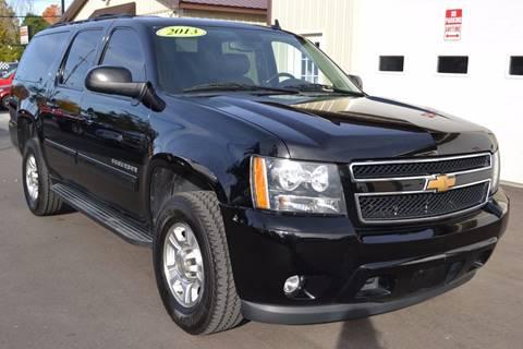 2013 Chevrolet Suburban for sale at Nick's Motor Sales LLC in Kalkaska MI