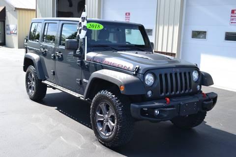 2018 Jeep Wrangler Unlimited for sale in Kalkaska, MI