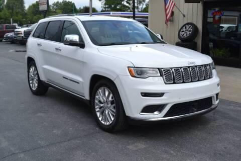 2017 Jeep Grand Cherokee for sale at Nick's Motor Sales LLC in Kalkaska MI