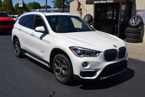 2016 BMW X1 for sale at Nick's Motor Sales LLC in Kalkaska MI