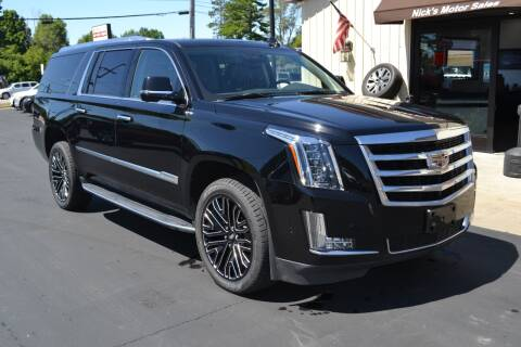 2020 Cadillac Escalade ESV for sale at Nick's Motor Sales LLC in Kalkaska MI