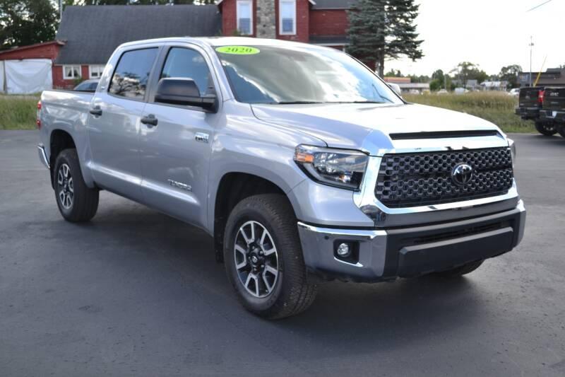 2020 Toyota Tundra for sale at Nick's Motor Sales LLC in Kalkaska MI