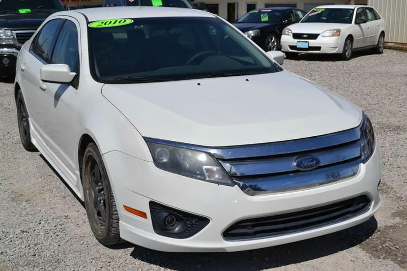 2010 Ford Fusion for sale at Nick's Motor Sales LLC in Kalkaska MI