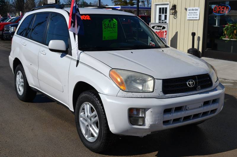 2002 Toyota RAV4 for sale at Nick's Motor Sales LLC in Kalkaska MI