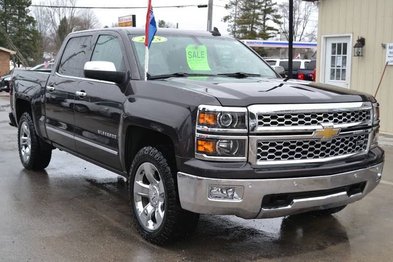 2015 Chevrolet Silverado 1500 for sale at Nick's Motor Sales LLC in Kalkaska MI