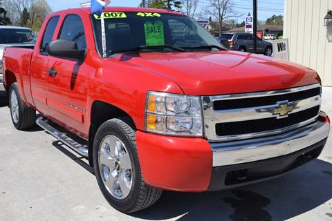2007 Chevrolet Silverado 1500 for sale at Nick's Motor Sales LLC in Kalkaska MI
