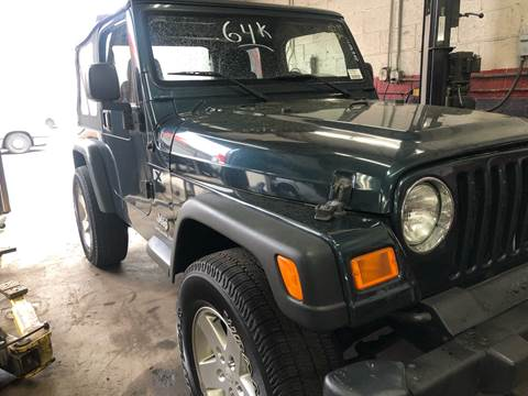 2005 Jeep Wrangler for sale in New Britain, CT