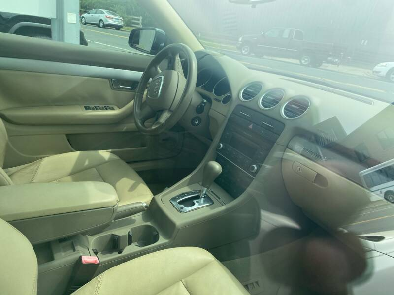2007 Audi A4 AWD 2.0T quattro 2dr Convertible (2L I4 6A) - New Britain CT
