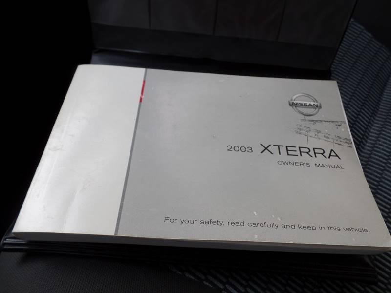 2003 Nissan Xterra SE 4WD 4dr SUV - Hasbrouck Heights NJ
