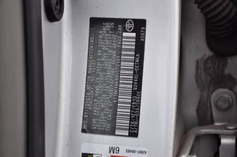 2008 Toyota Camry LE V6 4dr Sedan 6A - Hasbrouck Heights NJ