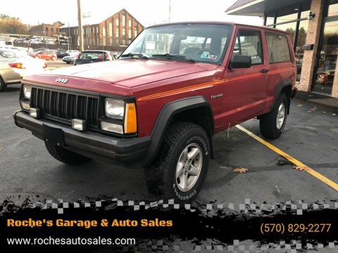 1991 Jeep Cherokee for sale in Wilkes-Barre, PA