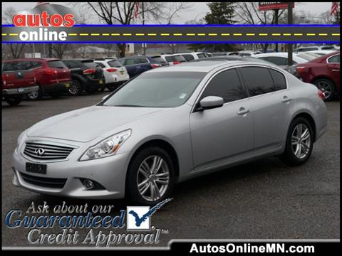 2013 Infiniti G37 Sedan for sale in Fridley, MN