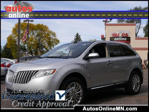 2013 Lincoln MKX for sale in Fridley, MN