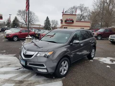 2012 Acura MDX for sale in Fridley, MN