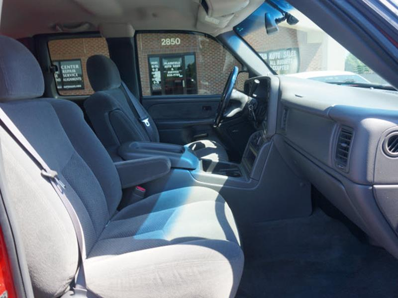 2003 Chevrolet Silverado 1500 for sale at Plainfield Auto Sales in Plainfield IN