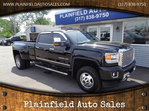 2016 GMC Sierra 3500HD for sale in Plainfield, IN
