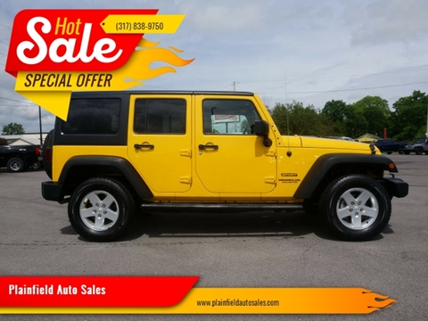 2011 Jeep Wrangler Unlimited for sale at Plainfield Auto Sales in Plainfield IN