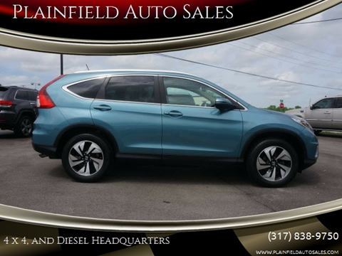2015 Honda CR-V Touring for sale at Plainfield Auto Sales in Plainfield IN