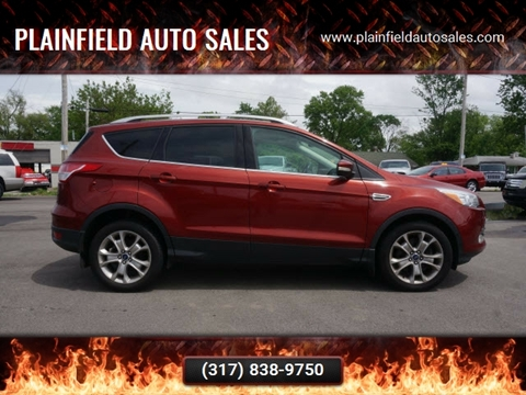 2014 Ford Escape Titanium for sale at Plainfield Auto Sales in Plainfield IN