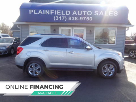 2012 Chevrolet Equinox for sale at Plainfield Auto Sales in Plainfield IN