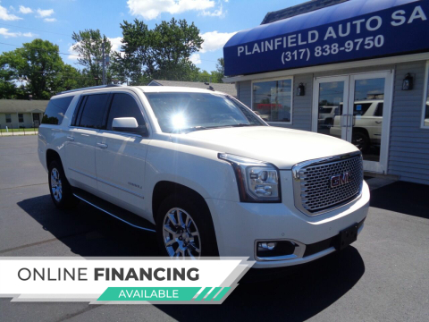 2015 GMC Yukon XL for sale at Plainfield Auto Sales in Plainfield IN
