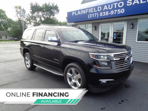 2016 Chevrolet Tahoe for sale at Plainfield Auto Sales in Plainfield IN