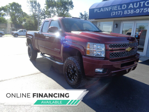2013 Chevrolet Silverado 2500HD for sale at Plainfield Auto Sales in Plainfield IN