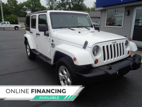2013 Jeep Wrangler Unlimited for sale at Plainfield Auto Sales in Plainfield IN
