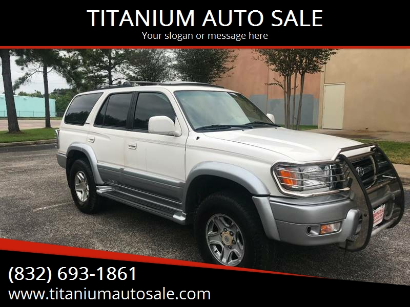2000 Toyota 4Runner Limited 4dr SUV   Houston TX
