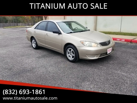 2005 Toyota Camry for sale in Houston, TX