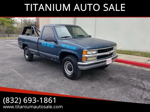 1990 GMC Sierra 2500 for sale in Houston, TX