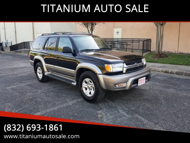 2002 Toyota 4runner Limited 2wd 4dr Suv In Houston Tx Titanium