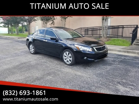 2010 Honda Accord for sale in Houston, TX