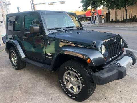 2008 Jeep Wrangler for sale at Hi-Tech Automotive - Congress in Austin TX